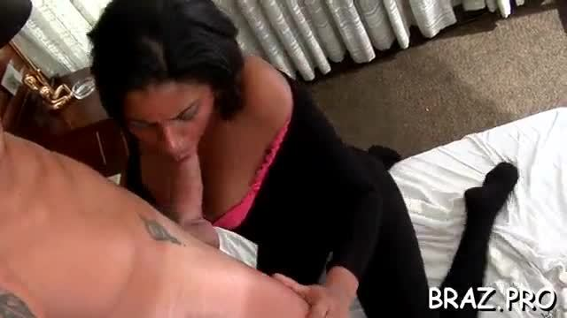 Latina chick can barely expect to recieve a nice long shlong