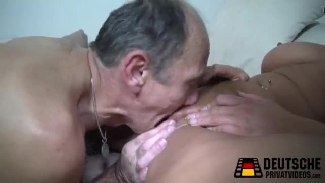 German milf and the old men