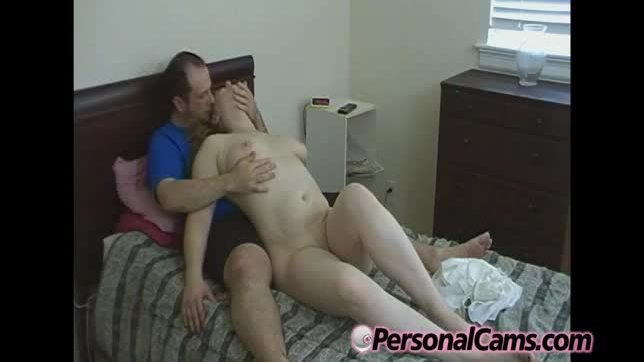 Big tit amatueur gets a spanking on web cam